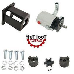 19 GPM Log Splitter Build Kit: 2 Stage Pump, Coupler, Mount