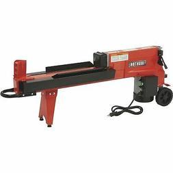 Ironton Horizontal Electric Log Splitter - 5-Ton, 15 Amp, 12