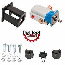 Log Splitter Build Kit 16 GPM Pump, Coupler, Mount, Bolts, H