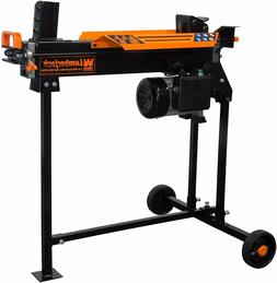 Log Splitter With Stand WEN 6.5 Ton Electric 2.5 HP Motor Sp