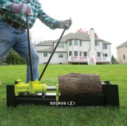 Logger Joe 10 Ton Hydraulic Log Splitter Steel Portable Fire