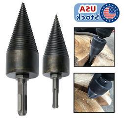 US High Speed Twist Firewood Drill Bit Wood Splitter Screw S